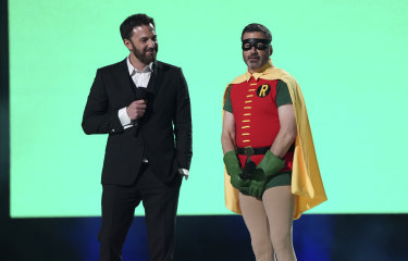 Ben Affleck and Jimmy Kimmel were among the celebrities at the star-studded event.