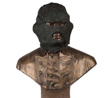 Biripi artist Jason Wing's Captain James Crook (2013) portrays Cook as a burglar.