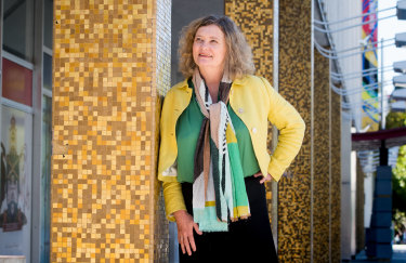 Virginia Rigney, senior curator of visual art at Canberra Museum and Gallery.