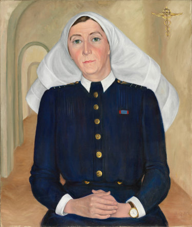 Alfreda Marcovitch's 'Matron Muriel Doherty' from 1948.
