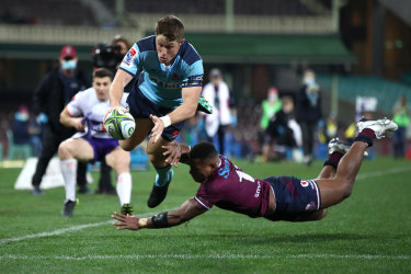 Alex Newsome is set to lead NSW this weekend against the Brumbies.