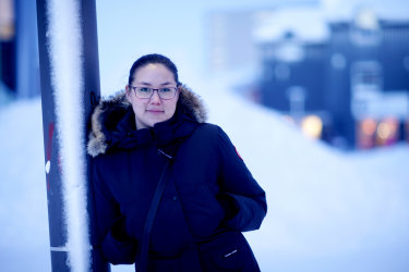 Writer Niviaq Korneliussen has become a literary star in Greenland, and internationally, after the publication of her debut novel 'Crimson'.