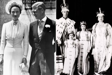 While King George VI, pictured right, was heralded for how he inspired ordinary people, the Duke of Windsor, left, was pilloried for spilling his heart in his memoir.