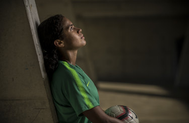 A star is born: Mary Fowler, 16, has been selected in the Matildas squad for next month's Women's World Cup in France.