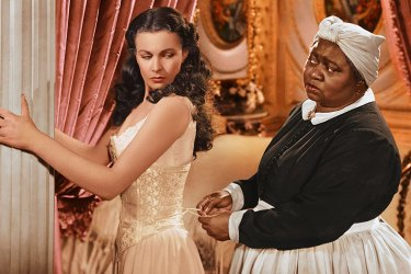 Vivien Leigh and Hattie McDaniel in the 1939 film adaptation.