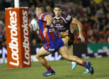 Up for it: Heighington says he'd love to play in the States, given the opportunity.