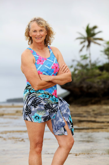 Shane Gould in Fiji for <i>Australian Survivor</i> season 3.