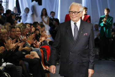 For his latest venture in February this year he teamed up with a designer seven decades his junior.