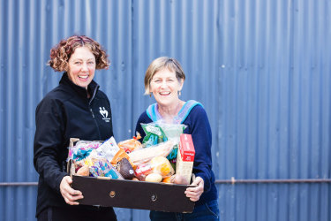 Griffith's Hampers of Hope organisation is committed to helping others and the environment, rescuing from local supermarkets, farmers and businesses food that would otherwise end up in landfill.