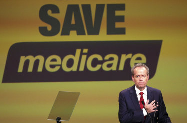 Labor's claim that the Coalition wanted to privatise Medicare infuriated the Liberal Party.