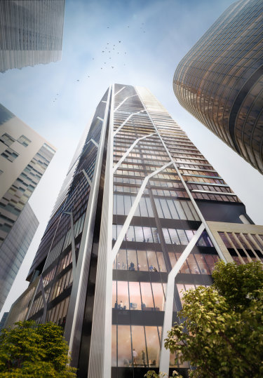 Lendlease's under-construction Sydney Place Tower will be built to the City of Sydney's sustainability requirements.
