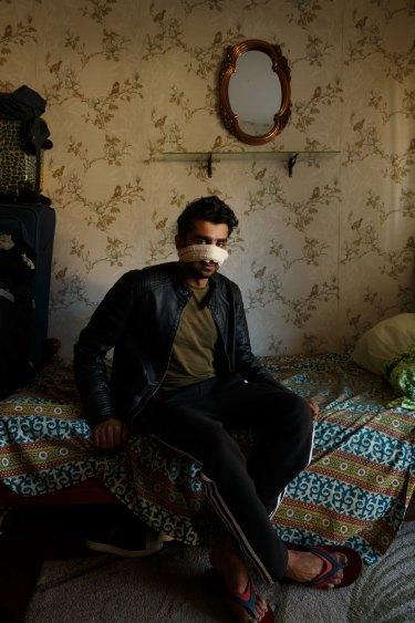 Max Mason-Hubers' portrait of 21-year-old Abdullah Qaiser.