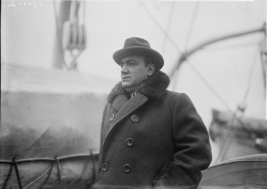 Opera singer Enrico Caruso in an undated photograph