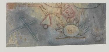 Paul Klee, Distel-bild (Thistle-picture), 1924.