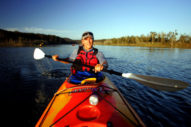 Bay and Beyond Sea Kayak Tours' Philip MacDonnell has seen the lowest number of tourists in 20 years of operating.