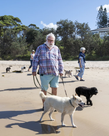 "Dog owners on the NSW South Coast say they have been ""made to feel like criminals in our own backyards""."