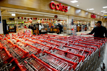 Coles introduced a quiet hour to its shops in the eastern states.