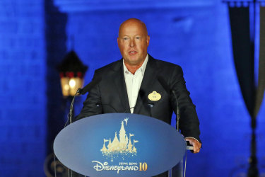 Disney CEO Bob Chapek said he will continue to experiment with offering films online for purchase - or moving them more quickly to streaming services.