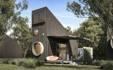 The project will feature 18 chalet-style cabins and two self-contained apartments.