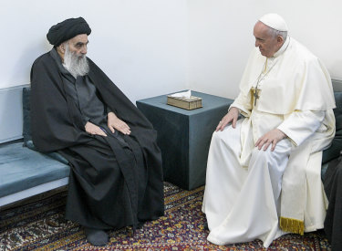 Ayatollah Sistani is a deeply revered figure in Shiite-majority Iraq and and his opinions on religious and other matters are sought by Shiites worldwide.
