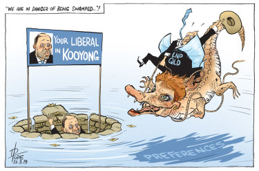 The Canberra Times editorial cartoon for Friday, March 22, 2019.