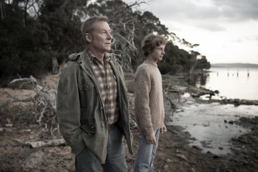 Stills from the film Breath based on the Tim Winton book.