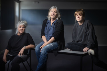 Susie Dee, Patricia Cornelius and Nicci Wilks have co-created <i>RUNT</i>.