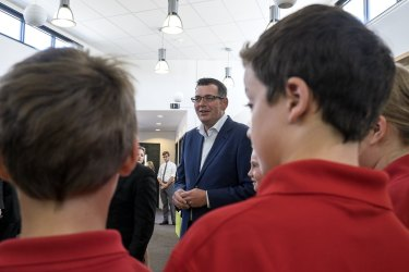 Daniel Andrews is spending big on new schools.