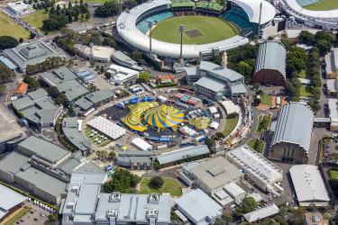 Moore Park Entertainment Quarter, Sydney.
