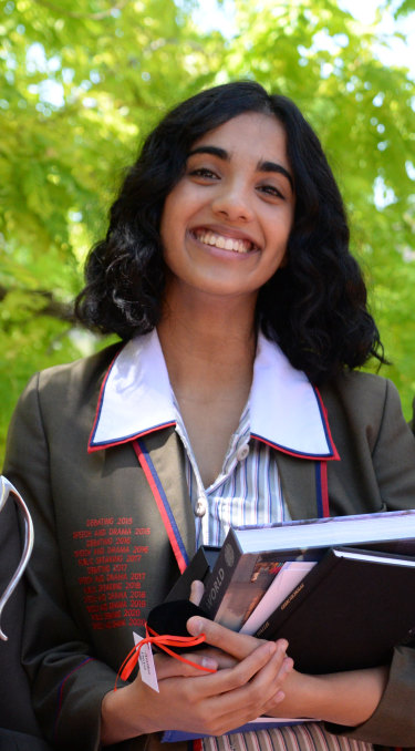 Anika Deva from Ascham got the highest possible ATAR of 99.95.