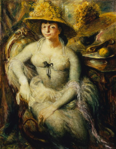 William Dobell's  <i>Margaret Olley</i>  won the Archibald Prize in 1948.