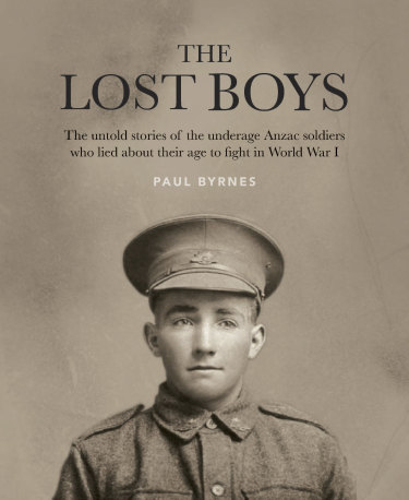 The Lost Boys – untold stories of the underage ANZAC soldiers who lied about their age to fight in World War I.