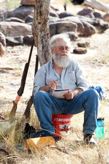 Peter Cooke helped found an Aboriginal fire-abatement scheme.