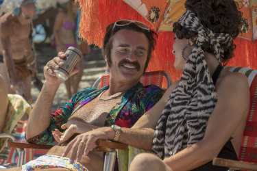Not even Julian McMahon's dodgy mo could save Swinging Safari.