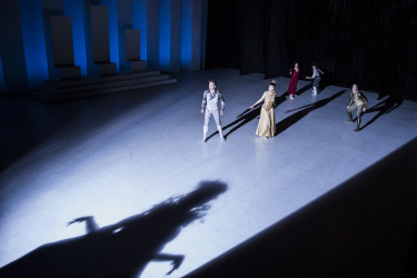 A menacing shadow looms over the dancers in LAC.
