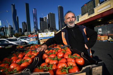 Paul Ansaldo, a trader at the market for 31 years, is pleased the council's underground plans will be revised.