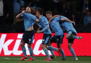 Sydney FC made it five A-League titles last Sunday.