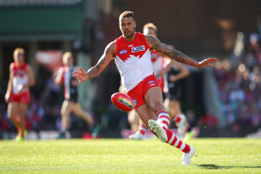 The Swans fortunes have closely mirrored Lance Franklin's performance.