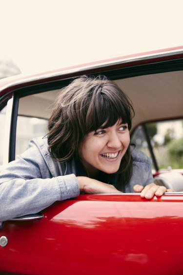 Courtney Barnett hosts Slate Culture Gabfest on Friday at the Melbourne Convention and Exhibition Centre.