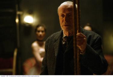 Michael Caine in The Prestige.