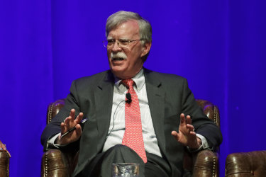 Donald Trump's former national security adviser John Bolton has written a memoir.