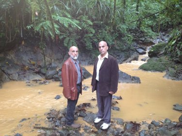 The Elomar brothers in Papua New Guinea.