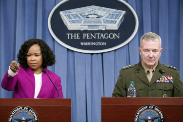Pentagon says attacks were precise and effective.