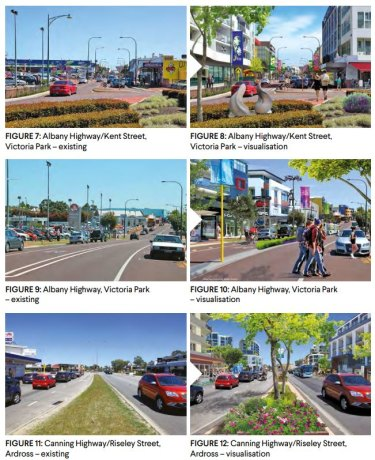 Potential future urban corridors.
