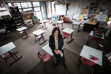 Watsonia North Primary School principal Tina King says remote learning this time around is 'complex and challenging'.