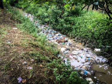 Waste plastic was never in short supply.