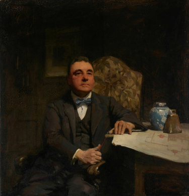 W. B. McInnes' H. Desbrowe Annear won the Archibald Prize in 1921.