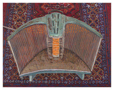 Lucy Culliton's Heater on Rug (2020).