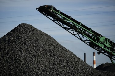 A file picture of coking coal. The Southern Highlands mine proposed to dig 50 million tonnes of coal over 19 years.
