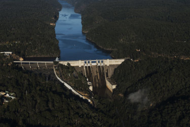 The Berejiklian government wants to raise the height of the Warragamba Dam wall by as much as 17 metres.
